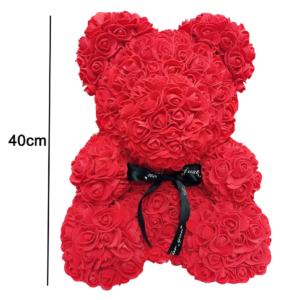 medvidek z ruzi 40 cm